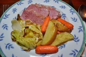 Картофель с капустой в духовке - фото шаг 6