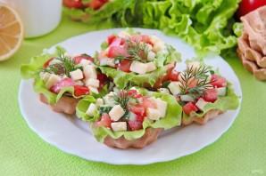 Овощные тарталетки - фото шаг 7