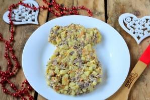 Новогодний салат в Год Собаки - фото шаг 9