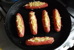 Сосиски с сыром в духовке - фото шаг 4