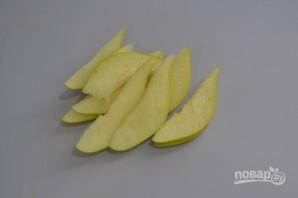 Салат с капустой и грушей - фото шаг 3