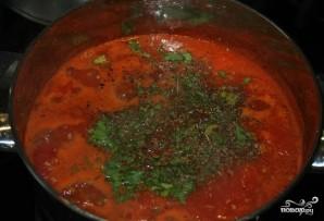 Томатный крем-суп со сливками - фото шаг 7
