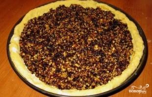 Пирог с сухофруктами - фото шаг 8