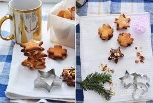 Рождественское печенье из творожного теста - фото шаг 9