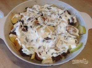 Говяжья печень с курагой и яблоком - фото шаг 8