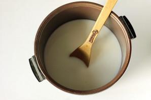 Ячневая каша на молоке в мультиварке - фото шаг 4
