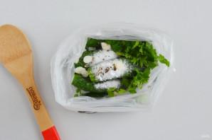 Соленые огурцы в пакете - фото шаг 4