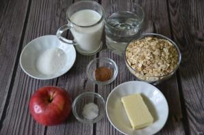 Овсяная каша с яблоком и корицей - фото шаг 1