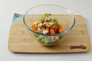 Салат с хурмой - фото шаг 6