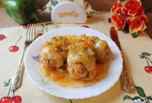 Перец фаршированный мясом и кабачками - фото шаг 10