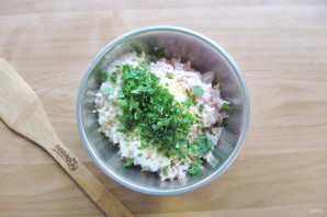 Котлеты с сыром и зеленью - фото шаг 5