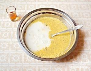 Закусочный кекс с ветчиной - фото шаг 2