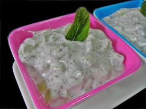 Йогурт с огурцом - фото шаг 4