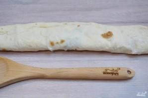 Лаваш с начинкой, запеченный в духовке - фото шаг 4