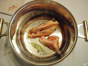 Капустный суп с курицей - фото шаг 1