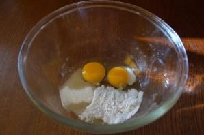 Блинчики с фруктовой начинкой - фото шаг 1