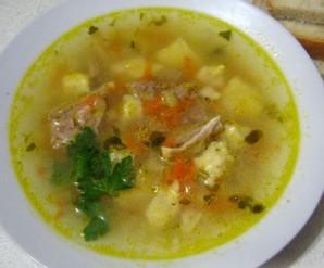 Суп из говядины с клецками - фото шаг 10