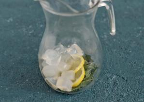 Холодный чай с мятой - фото шаг 4