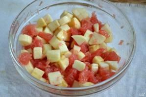 Салат с грейпфрутом - фото шаг 5