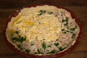 Пирог с курицей и рисом - фото шаг 7