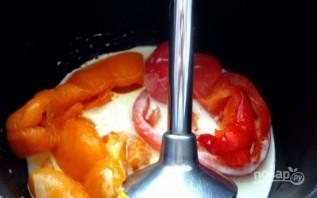 Перец под сливочным соусом - фото шаг 4