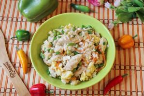 Китайский жареный рис с курицей - фото шаг 14