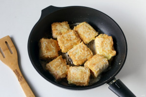 Ленивые пирожки из лаваша - фото шаг 6