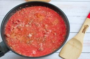 Ригатони с острым мясным соусом - фото шаг 5
