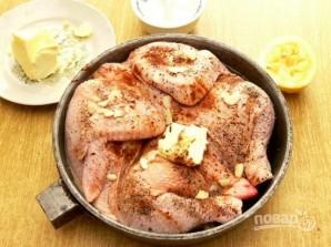 Цыпленок тапака (или табака) - фото шаг 6