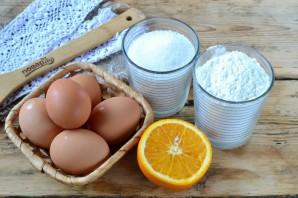 Нежный пирог с апельсинами - фото шаг 1
