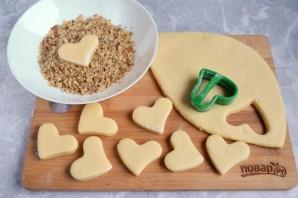 Медовое печенье с орехами - фото шаг 6