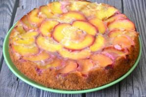 Пирог с персиками от Юлии Высоцкой - фото шаг 15