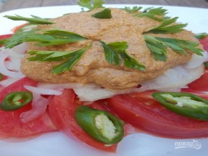 Грузинский салат классический - фото шаг 9