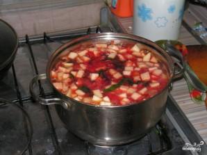 Суп из свекольной ботвы - фото шаг 7
