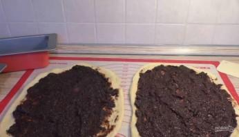 Сдобный хлебец с шоколадно-маковой начинкой - фото шаг 6
