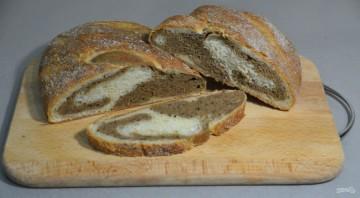 Мраморный хлеб - фото шаг 27