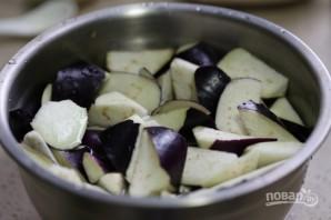Тушеные баклажаны с мясом - фото шаг 1