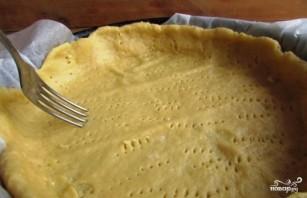 Вишневый пирог с заливкой - фото шаг 6