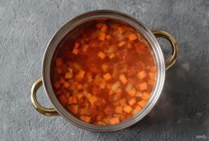 "Суп с пастой ""Орзо"" - фото шаг 5"