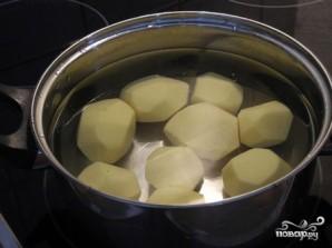 Горбуша, запеченная с картофелем - фото шаг 3
