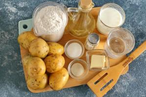 Жареные пирожки с картошкой - фото шаг 1