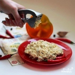 Закуска из болгарского перца - фото шаг 2