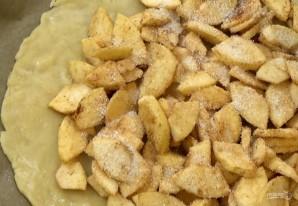 Пирог с яблоками (галета) - фото шаг 3