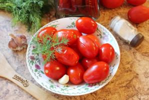 Засолка помидоров в кастрюле - фото шаг 8