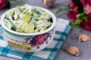 ПП салат с авокадо - фото шаг 7