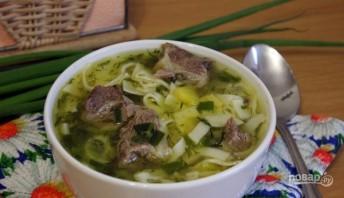 Суп: лапша с говядиной - фото шаг 5