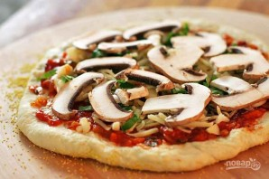 Пицца в духовке  - фото шаг 4