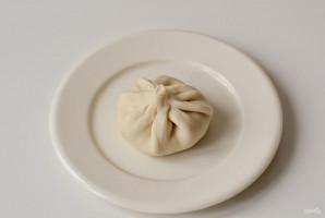 Вегетарианские хинкали - фото шаг 11
