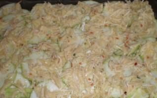 Кабачки под соусом в духовке - фото шаг 2