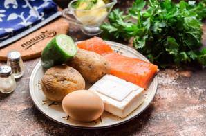 Салат из рыбы копченой - фото шаг 1